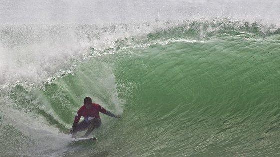 """O surfista português 'Saca' disse sentir-se """"dececionado"""""""