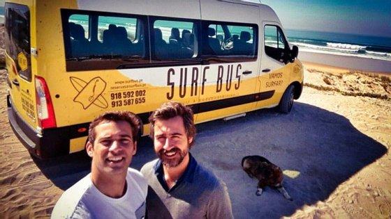 Gonçalo Pereira e Daniel Beirôco fazem bodyboard desde os 15 anos