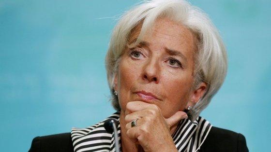 Christine Lagarde, a diretora do Fundo Monetário Internacional (FMI), não foi convidada este ano