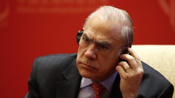 A Organização para a Cooperação e Desenvolvimento Económico é liderada por Ángel Gurría.