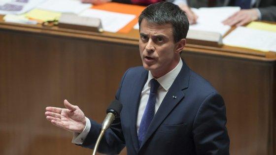 Manuel Valls visita Lisboa acompanhado pelo secretário de Estado dos Assuntos Europeus