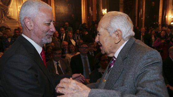 Mário Soares foi dos primeiros a manifestar apoio a uma candidatura de Nóvoa