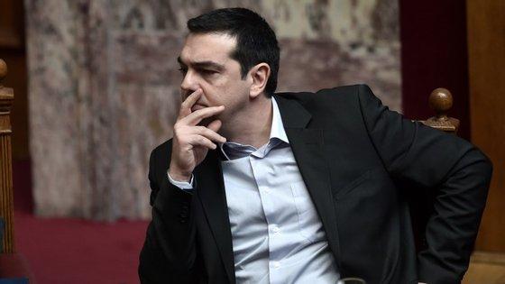 Tsipras está em visita à Rússia