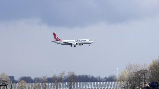 É a terceira vez esta semana que um voo da Turkish Airlines sofre problemas