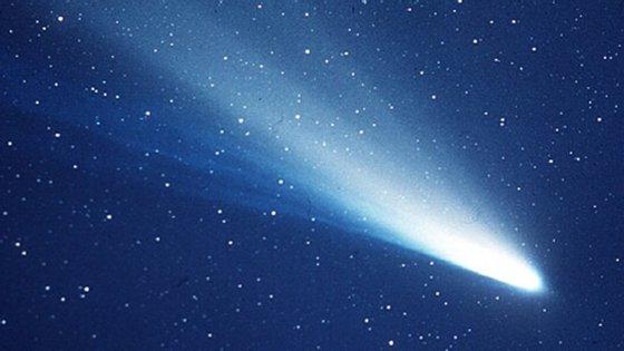 O cometa Halley quando passou pela Terra em 1986
