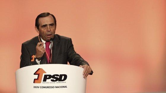 Álvaro Amaro é presidente dos autarcas sociais-democratas