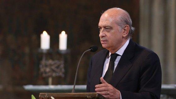 O ministro do Interior de Espanha, Jorge Fernández Díaz