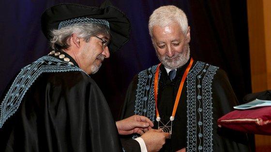 Sampaio da Nóvoa foi distinguido pela Universidade do Algarve