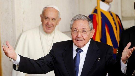 O Papa Francisco vai visitar a capital cubana, Havana, em setembro
