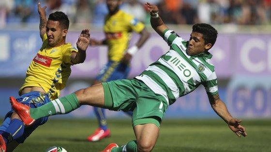 O jogo na Amoreira foi bem disputado, mas nem sempre com bom futebol.