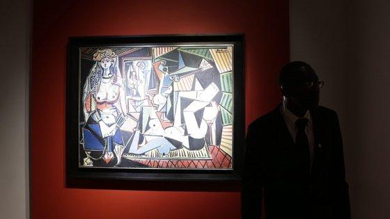 O quadro foi pintado em 1955