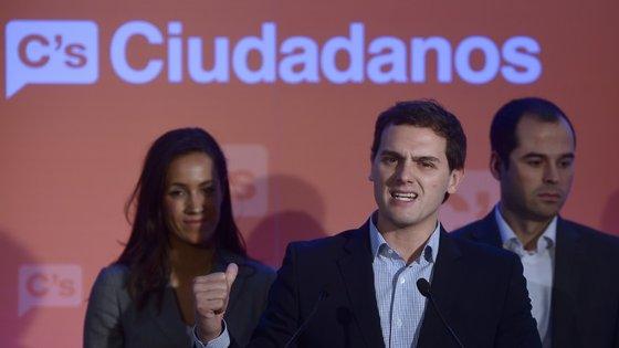 O líder do Ciudadanos Albert Rivera reúne o partido esta semana
