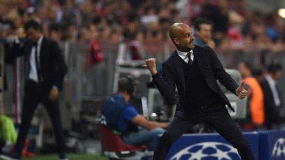 O Bayern de Munique foi eliminado pelo Barcelona e não é desta que Pep Guardiola volta à final da Liga dos Campeões. Mas isto ninguém lhe tira: chegou às meias-finais de todas as edições da prova em que participou (seis)