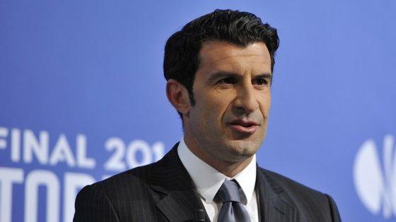 Luís Figo é uma das várias personalidades do mundo do desporto que vão estar presentes na Web Summit