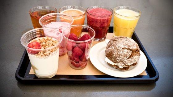 Os novos pequenos-almoços Origem têm tantas opções que não couberam todas na foto.
