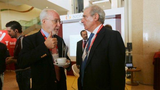 Luís Filipe Pereira, à direita