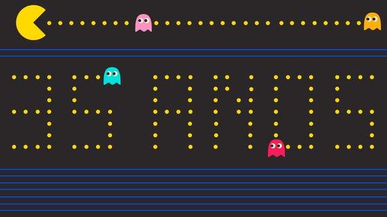 Pac-Man completa 35 anos esta sexta-feira como um dos jogos mais lucrativos da história