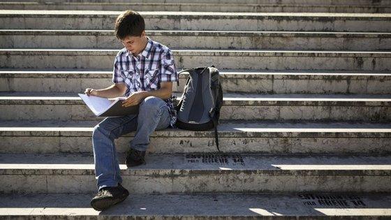 A nível nacional, a situação dos alunos inscritos ao fim de um ano apontava para uma taxa de permanência no mesmo curso de 79,5%