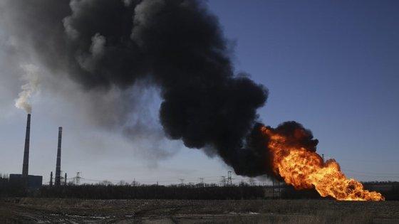 Explosão num oleoduto perto de Donetsk