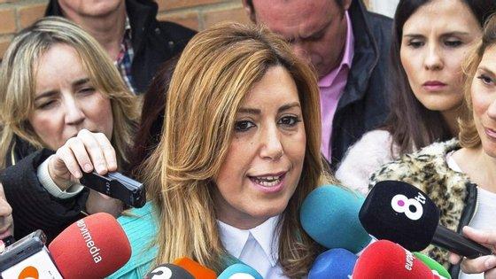 Susana Díaz lidera o governo regional da Andaluzia desde 2013. Em março deste ano foi reeleita, mas sem maioria.