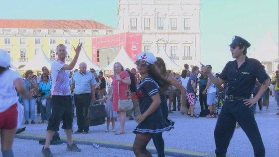 A festa no Arraial Pride de 2014.