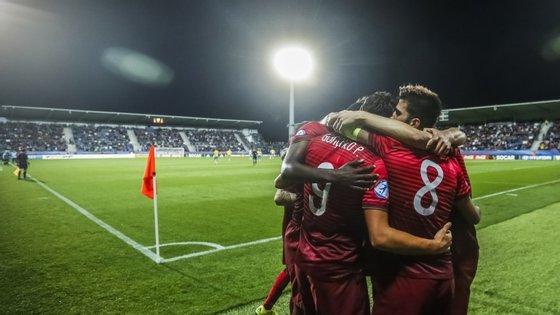 Ganhando ou empatando, Portugal iria sempre passar às meias-finais do Europeu Sub-21 e, por arrasto, qualificar-se para os Jogos Olímpicos de 2016