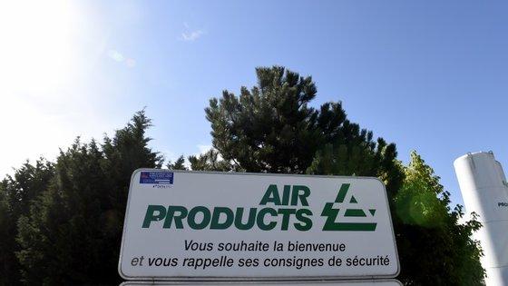 A fábrica da Air Products foi para onde Yassim Sahli levou o corpo do patrão