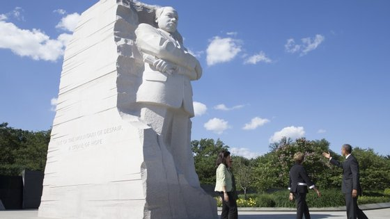 Obama já tinha levado o primeiro-ministro indiano ao monumento de King