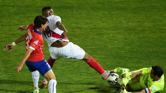 O Chile já foi duas vezes à final, mas nunca ganhou a competição