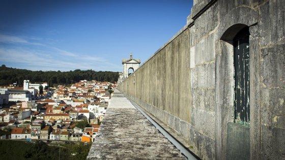 O velho Aqueduto das Águas Livres, em Lisboa