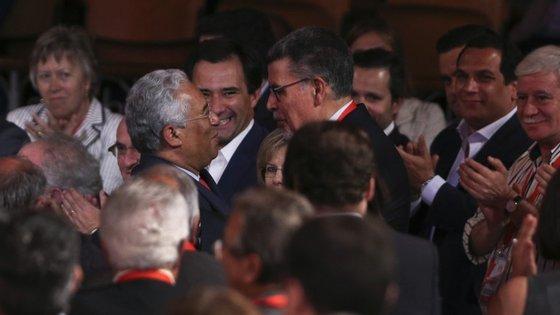 Capucho discursou na Convenção Nacional do PS, em Junho, convidado por António Costa