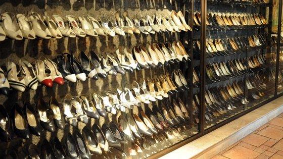 A maioria dos artigos contrafeitos apreendidos eram vestuário e calçado
