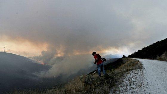 Os concelhos com previsão de risco máximo de incêndio são: Oleiros, Vila de Rei, Sardoal e Mação