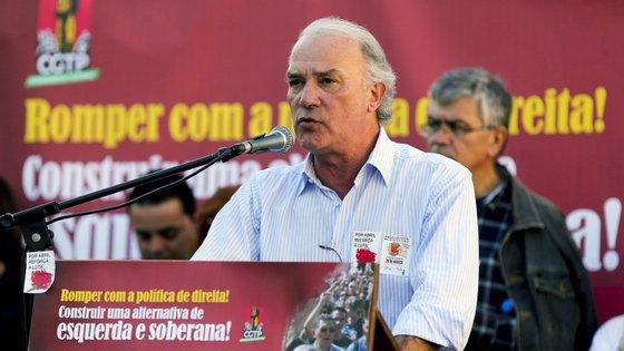 Para S. Bento, está marcada uma intervenção do secretário-geral da CGTP, Arménio Carlos