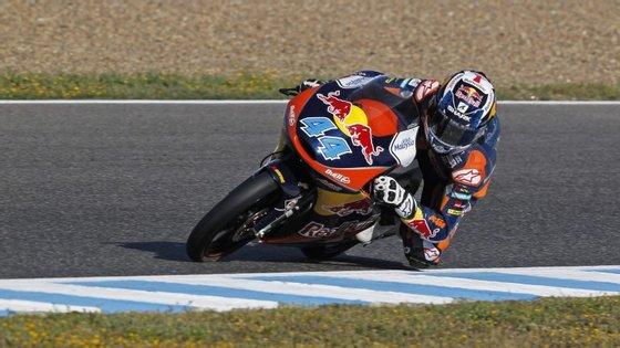 Oliveira, que venceu os GP da Holanda e da Itália, segue no terceiro lugar da classificação do mundial de Moto3