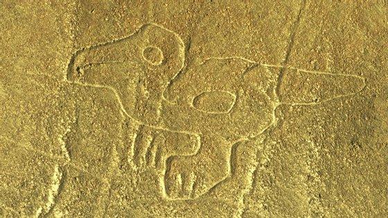Os geóglifos da Linha de Nazca, no Peru, são considerados Património da Humanidade pela UNESCO.