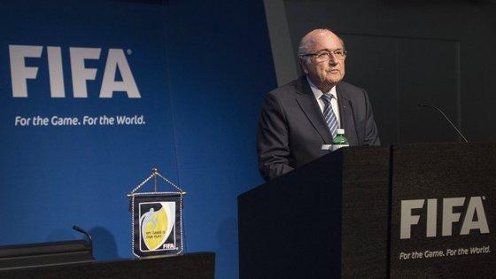 Blatter vai estar ausente este domingo da final do Mundial feminino