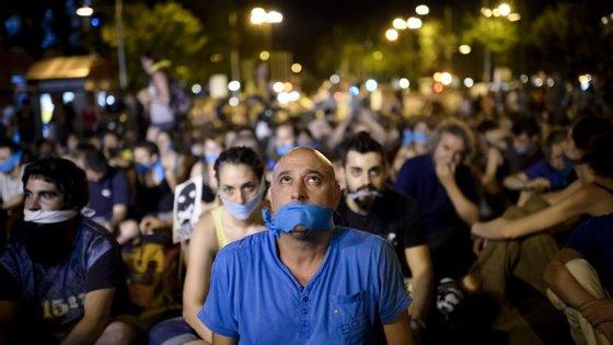 Ainda esta terça-feira houve uma nova manifestação contra a lei, aprovada em março