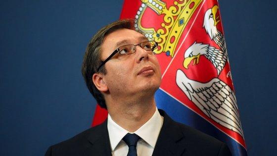 Alexander Vucic é primeiro-ministro da Sérvia desde 2014, ano em que foi eleito pelo Partido Progressista da Sérvia, de centro-direita.