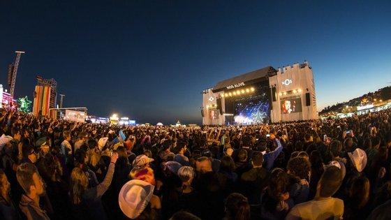 O festival realizou-se entre os dias 9 e 11 de julho no Passeiro Marítimo, em Algés