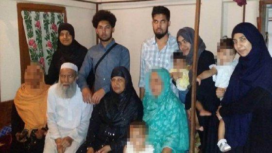 Um amigo próximo da família acredita que uma das mulheres da família radicalizou-se