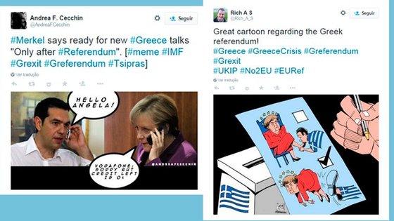 Circulam na Internet diversos memes sobre o futuro da Grécia