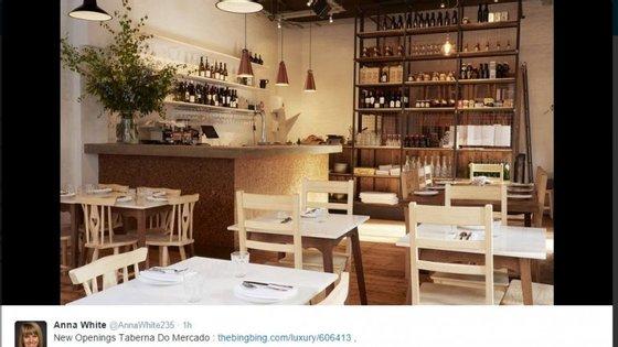 O restaurante Taberna do Mercado abriu em maio deste ano e tem recebido críticas laudatórias da imprensa