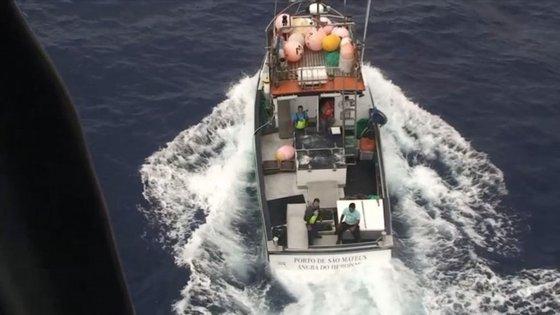 O INEM verificou a necessidade de resgate e foi enviado socorro