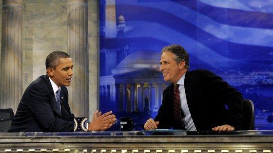 O Daily Show está no ar há 16 anos e tem cerca de um milhão e meio de espetadores