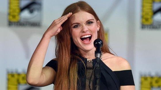 """Holland Roden, da série """"Teen Wolf"""", é uma das atrizes convidadas deste ano"""