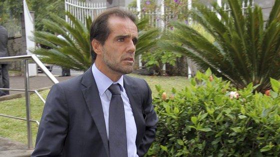 Manuel Brito foi nomeado em Abril deste ano para o cargo pelo presidente do Governo Regional da Madeira, Miguel Albuquerque (na foto)