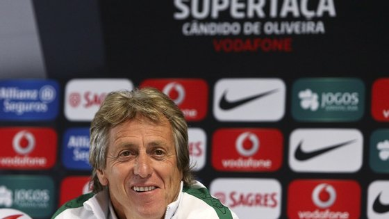 """Com cinco semanas de trabalho com o plantel de Alvalade, Jorge Jesus diz ser um homem """"muito satisfeito"""""""