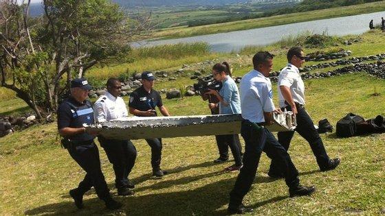O avião da Malaysia Airlines desapareceu em março de 2014
