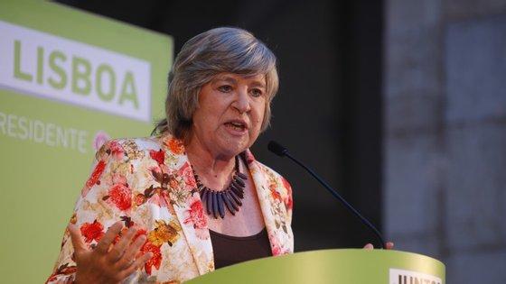 A presidente da assembleia municipal, Helena Roseta, lembra que a cidade já teve mais 200 mil habitantes do que tem hoje